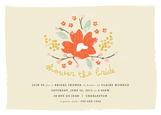 party invitations - Shower the Bride by Kristie Kern