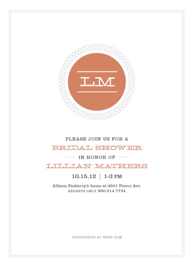 party invitations - Stay in the Loop by Kay Loves Candy