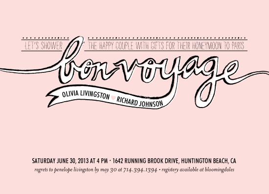 Bon Voyage Invitations Wedding Tips And Inspiration - Bon voyage party invitation template