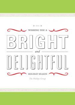 Typographic Holiday