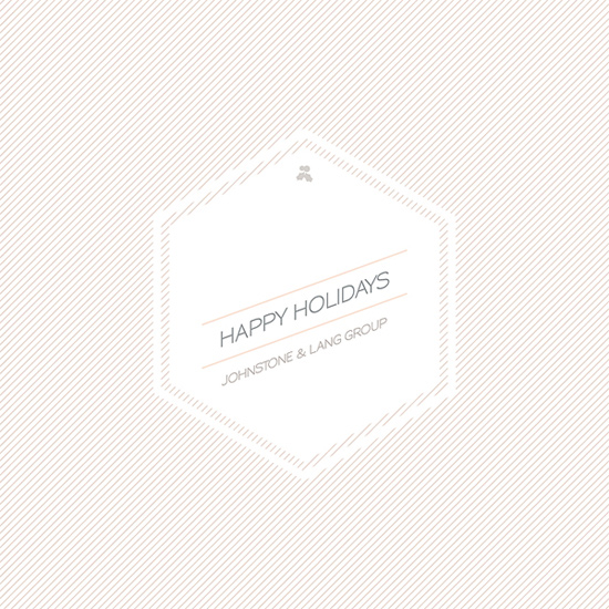 business holiday cards - Honeycomb & Co. by Christopher Morben