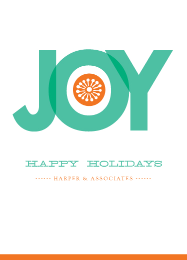 business holiday cards - Big Joy by Eleanor Mayrhofer