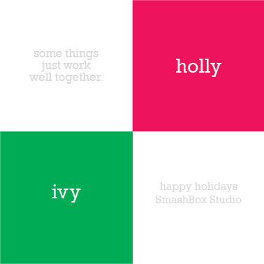 business holiday cards - Holly & Ivy by That Girl Studio