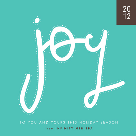 business holiday cards - joy script by trbdesign