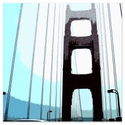 *Color Block A - Golden Gate