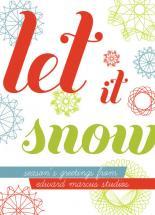 Vivid Snowflakes by Tiki Keller