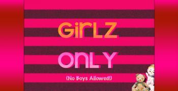 Girlz Only Signage