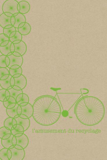 art prints - l'amusement du recyclage by Kampai Designs