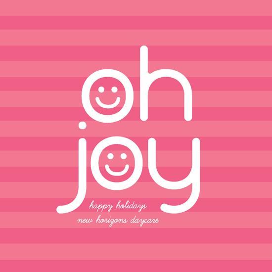 corporate holiday cards - Smiling Joy by Ana Gonzalez