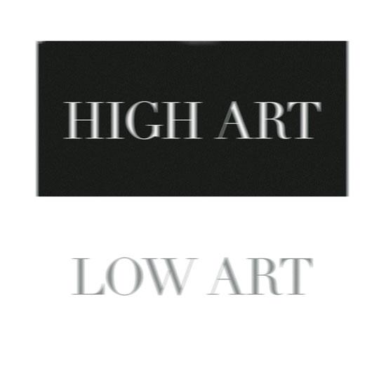 art prints - High - Low Art by That Girl Studio