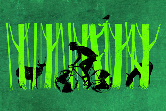 art prints - Let's Go Green by Deyaz