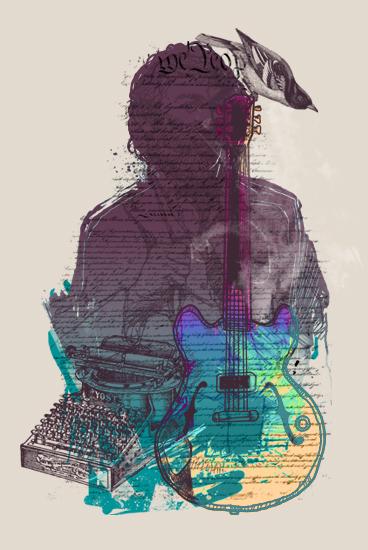 art prints - Born Song by Deyaz