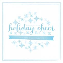 snowy holiday cheers