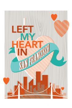 left my heart~san francisco