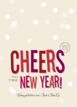 Cheers, New Year!