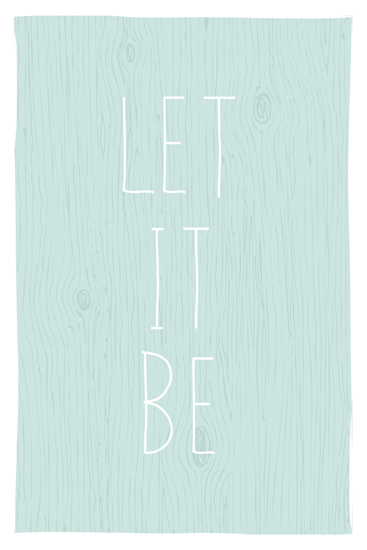 art prints - Let it Be. by emily elizabeth stationery