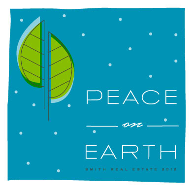 corporate holiday cards - Peace On Earth Holiday Greeting by Ariana DiLibero