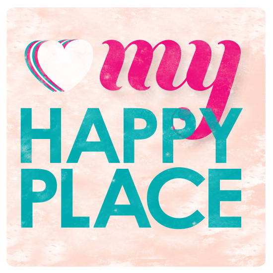 art prints - my happy place by Sublime Paperie