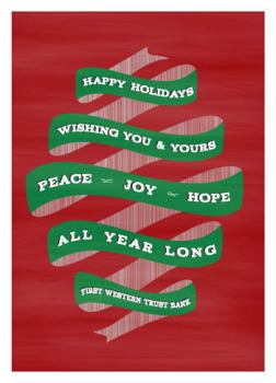 A Happy Holiday Card for You & Yours