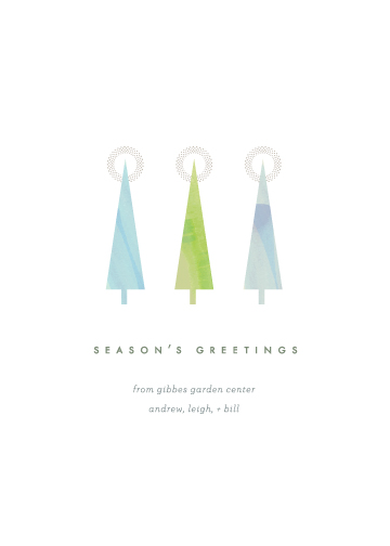 business holiday cards - Glisten by kelli hall