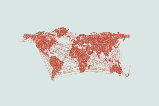 art prints - The Worldwide Web by Joseph Manibusan