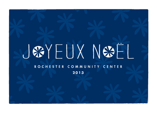 corporate holiday cards - snowy noel by Snow and Ivy