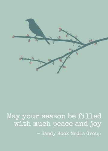 business holiday cards - Bird is the Word by Kirstin Nagy