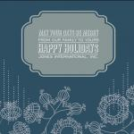 Be Merry Holiday Card by Rodney Jones