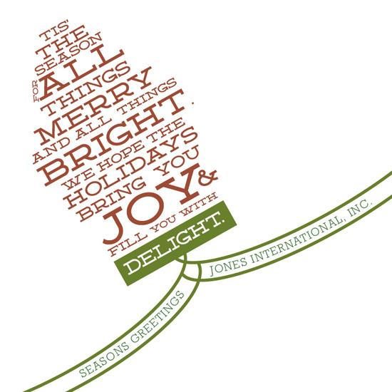 business holiday cards - Bright Light Holiday by Rodney Jones