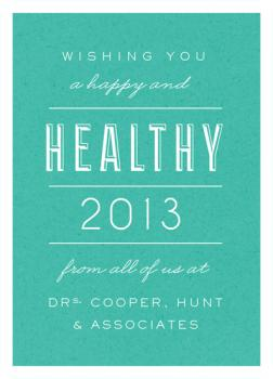 Healthy New Year!