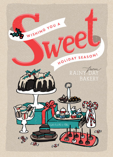 business holiday cards - A Sweet Holiday by Shiny Penny Studio