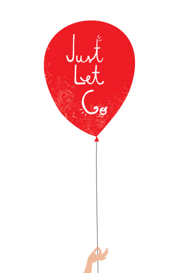 art prints - Just Let Go by Kayla King