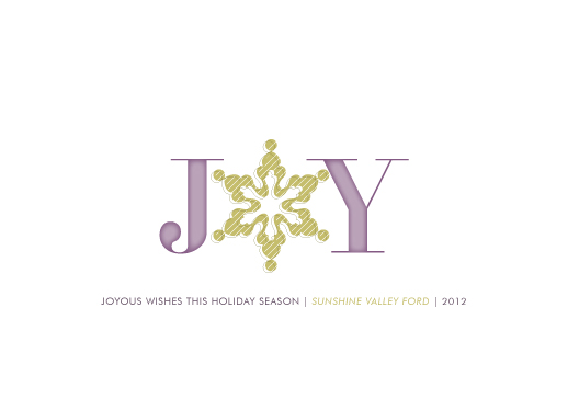 corporate holiday cards - Oh Joy Snow by Samantha Venator
