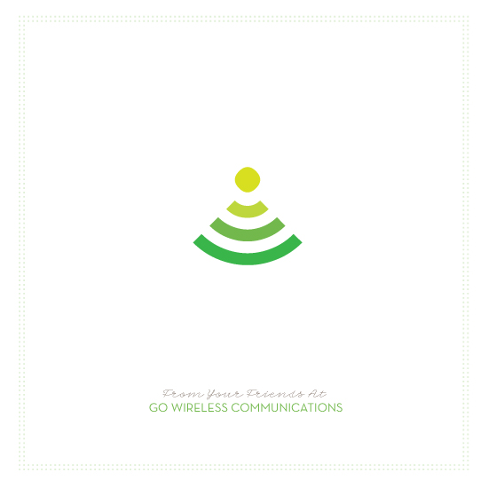 business holiday cards - WiFi Holidays by chica design