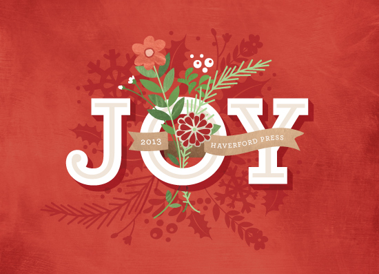 business holiday cards - Bouquet of Joy by Susie Allen