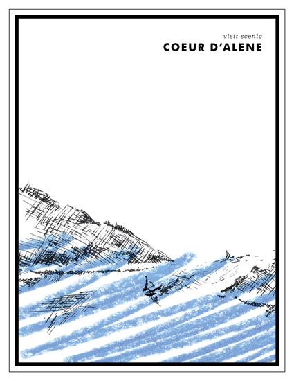 art prints - Visit Coeur d'Alene by Jack Knoebber