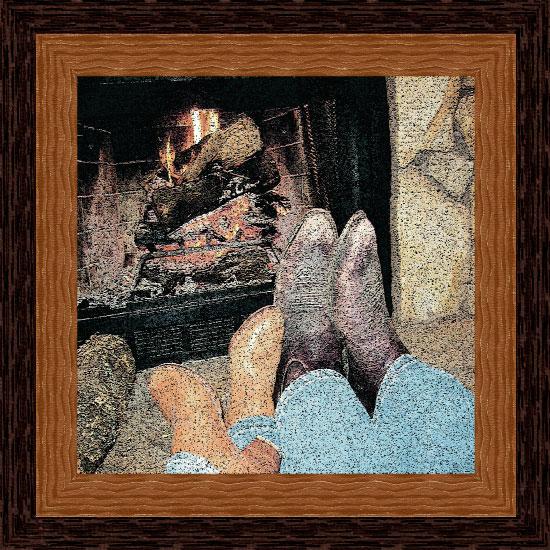 art prints - Cabin Fever by Kori Woodring