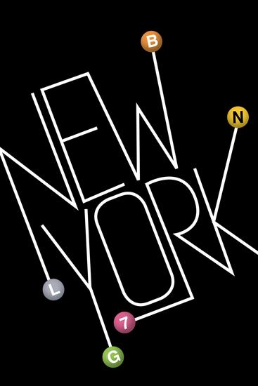 art prints - New York Lines by Ana Gonzalez