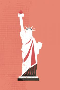 Statue of Liberty Flare