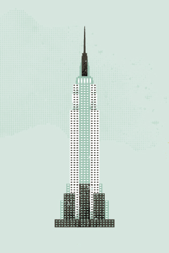 art prints - Empire State Building Flare by Serenity Avenue