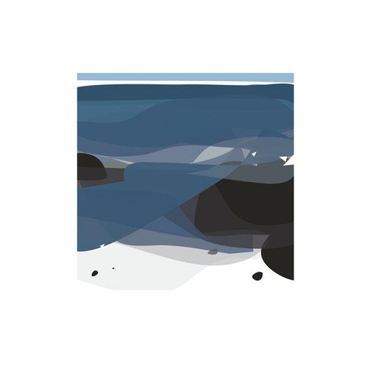 art prints - coastline by Kimberly Nicole