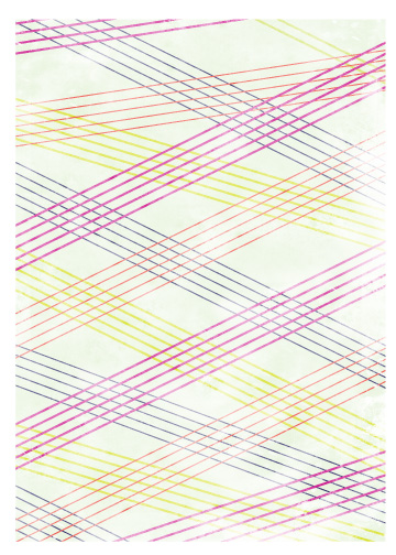 art prints - vibrant intersection by Sublime Paperie