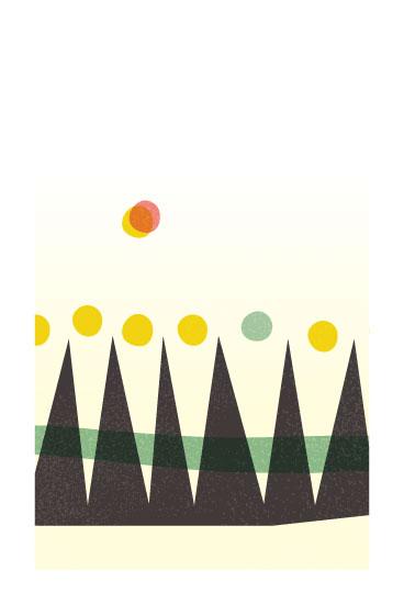 art prints - Hills by 2birdstone