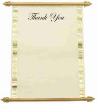 Thank you card Concept by rupesh kumbhat