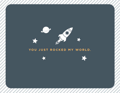 thank you cards - Rock My World by Olive and Violet