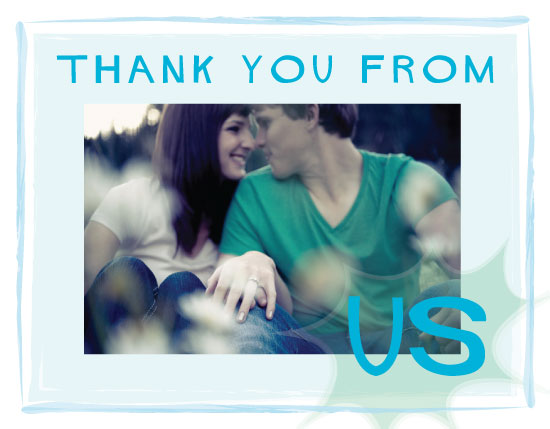 thank you cards - Us thank you by Amy Weir