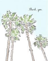 Palm Trees by Justine Massa