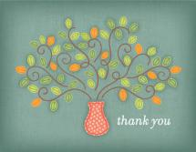 Thank You Tree by Lynn and Lou Paper Co