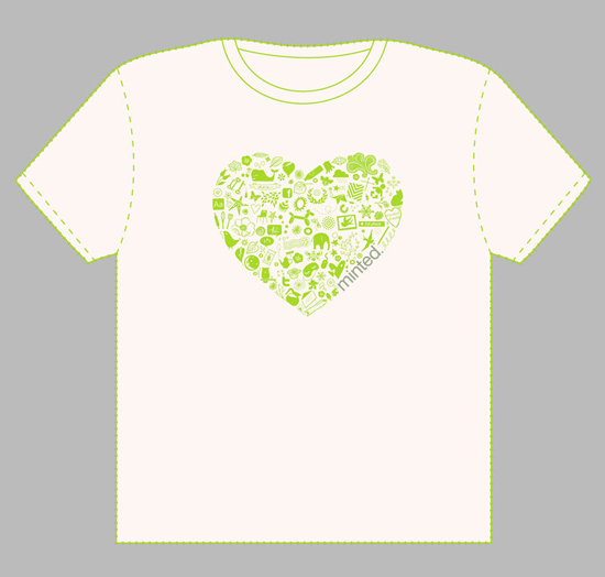 minted t-shirt design - Ode to Minted by Design Lotus