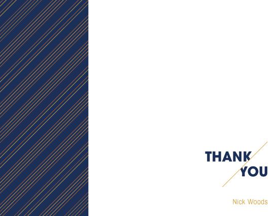 thank you cards - 45 Angle by Marcela Cebrowski